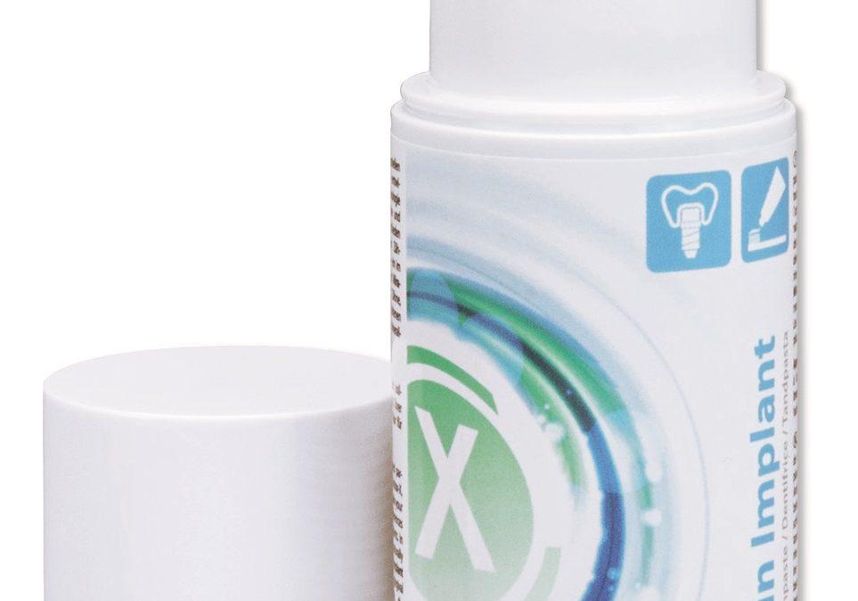 Miraclin Implant dantų pasta, turintiems dantų implantų