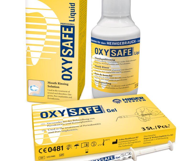 OXYSAFE Professional su aktyviuoju deguonimi periodontito ir periimplantito gydymui
